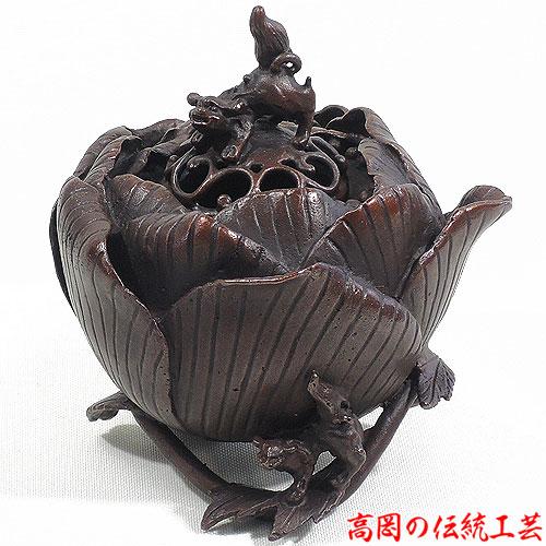 高岡銅器・伝統工芸の香炉を販売