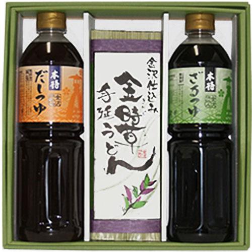 金沢名物・だしつゆ・ざる蕎麦つゆ・金時草手延うどん・加賀丸いも蕎麦を販売
