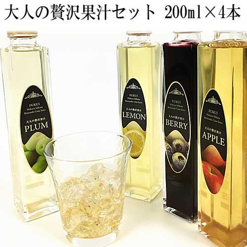紅映梅(紅さし梅)の梅果汁セットを販売