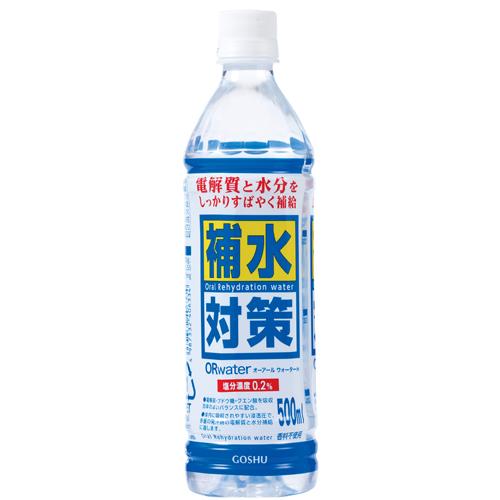保水対策ORwater 500ml 24本入