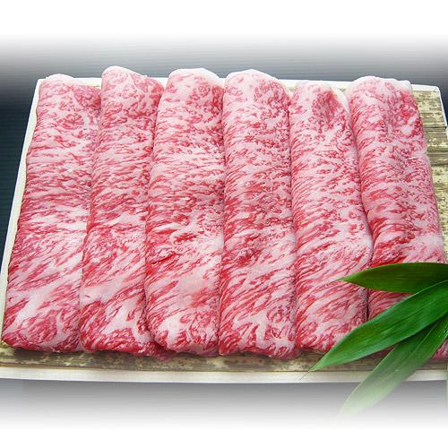 松阪牛モモすき焼き用(400g)を販売