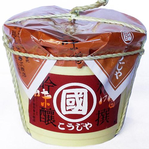 こうじや・あわせ味噌(3Kg樽)
