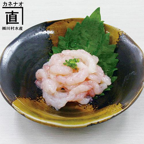 富山県名産品・甘海老(エビ)の塩辛を販売