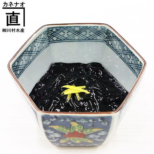富山の名産品・烏賊(いか)黒作りを販売