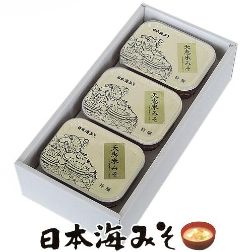 日本海味噌(みそ)の米麹味噌、天恵米味噌(みそ)を販売