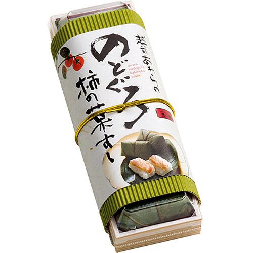 越前あわらの柿の葉寿司(のどぐろ)6個入を販売