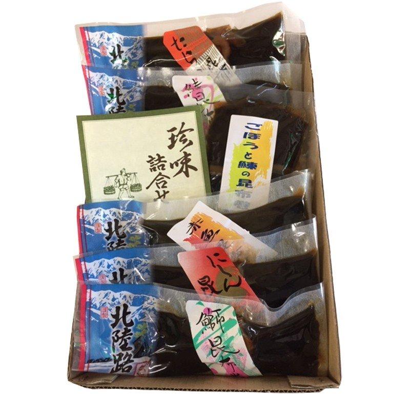 富山 魚源 昆布巻き味比べセット6種入