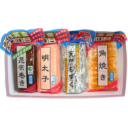 魚住かまぼこ店・練り蒲鉾(カマボコ)セットを販売