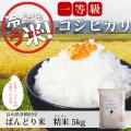 お米 5kg 白米 ばんどり米 富山県産 2018 コシヒカリ100% 精米