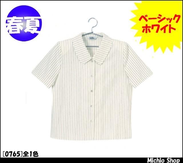 事務服 制服 en joie(アンジョア) 半袖ブラウス 0765