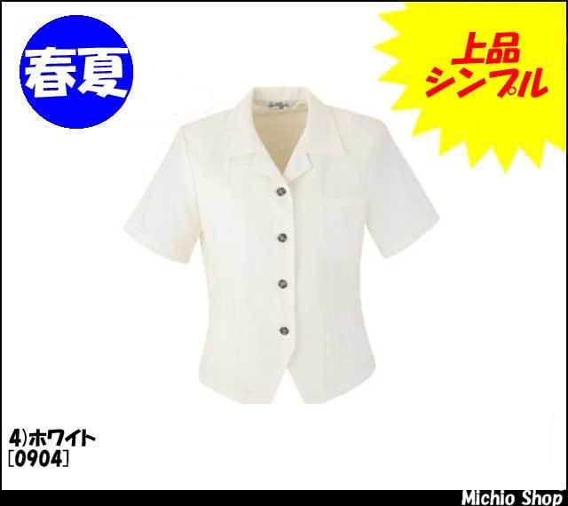 事務服 制服 en joie(アンジョア) オーバーブラウス 0904