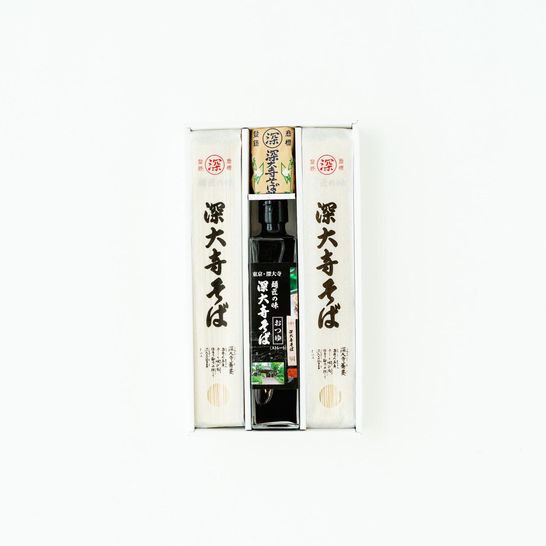 深大寺そば 麺匠の味 冷たいそば用ギフトセット (6人前)
