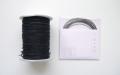 ラメ四季の糸 黒ラメ400cm 水引素材(材料)