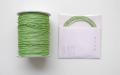 ラメ四季の糸 黄緑400cm 水引素材(材料)
