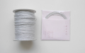 ラメ四季の糸 シルバー400cm 水引素材(材料)