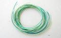 緑色グラデーション10本 四季の糸 水引素材(材料)