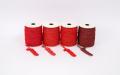 《6点以上お買い上げでまとめ割!対象商品》 ラメ四季の糸400cm 赤1~4 水引素材(材料)