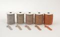 《6点以上お買い上げでまとめ割!対象商品》 ラメ四季の糸400cm サーモン1~5 水引素材(材料)