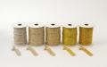 《6点以上お買い上げでまとめ割!対象商品》 ラメ四季の糸400cm ゴールド1~5 水引素材(材料)