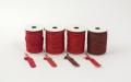 ラメ四季の糸400cm 赤1~4 水引素材(材料)