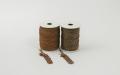 《6点以上お買い上げでまとめ割!対象商品》 ラメ四季の糸400cm 茶1~2 水引素材(材料)
