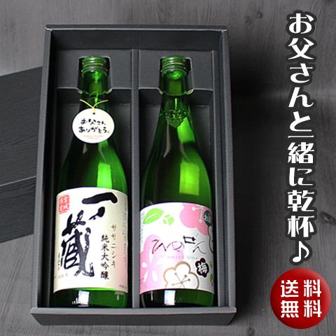 一ノ蔵 純米大吟醸とやわらか梅酒セット
