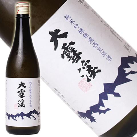 大雪渓 純米吟醸 無濾過生原酒 720ml