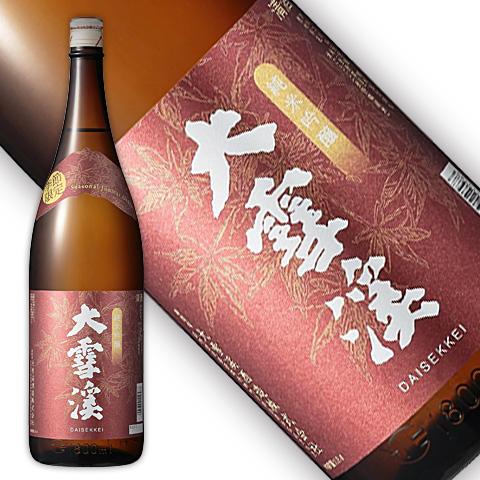 大雪渓 秋の純米吟醸 1800ml
