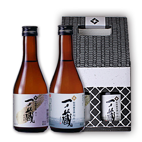 一ノ蔵特別純米酒「辛口」&「超辛口」300ml2本セット