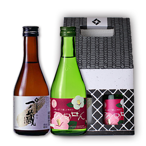 一ノ蔵「特別純米酒辛口」&「ひめぜん」300ml2本セット