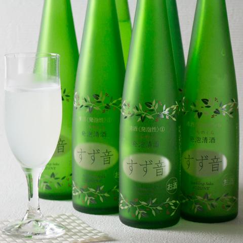 【スパークリング日本酒】一ノ蔵発泡清酒すず音6本セット