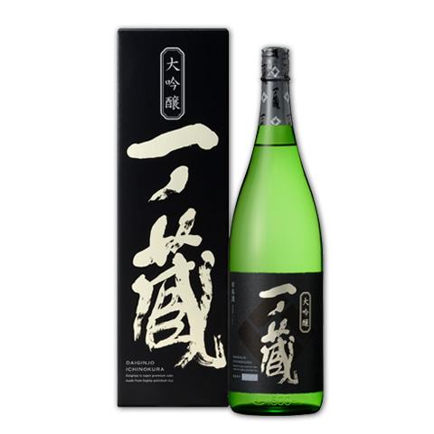 一ノ蔵大吟醸1800ml(化粧箱付)