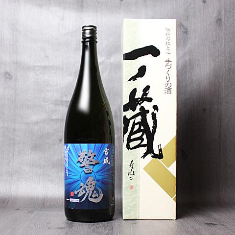 警魂【青】特別純米酒1800ml