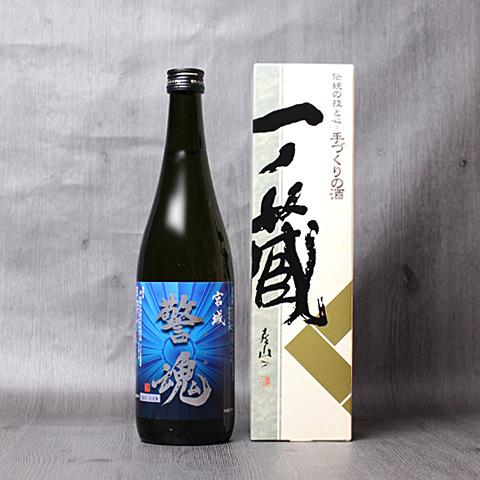 警魂【青】特別純米酒720ml