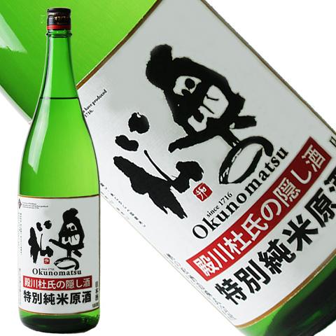 奥の松 隠し酒 特別純米原酒 1800ml