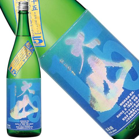 大山 特別純米原酒 十五 1800ml
