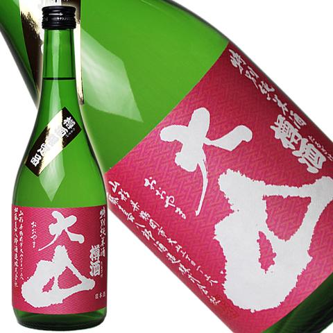 大山 特別純米酒 樽酒 720ml