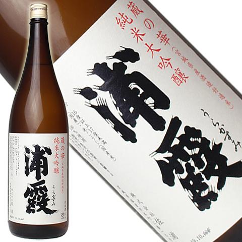 浦霞 蔵の華 純米大吟醸 1800