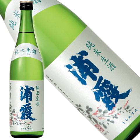 浦霞 純米 生酒 720ml