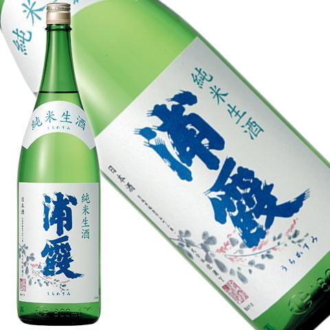 浦霞 純米 生酒 1800ml
