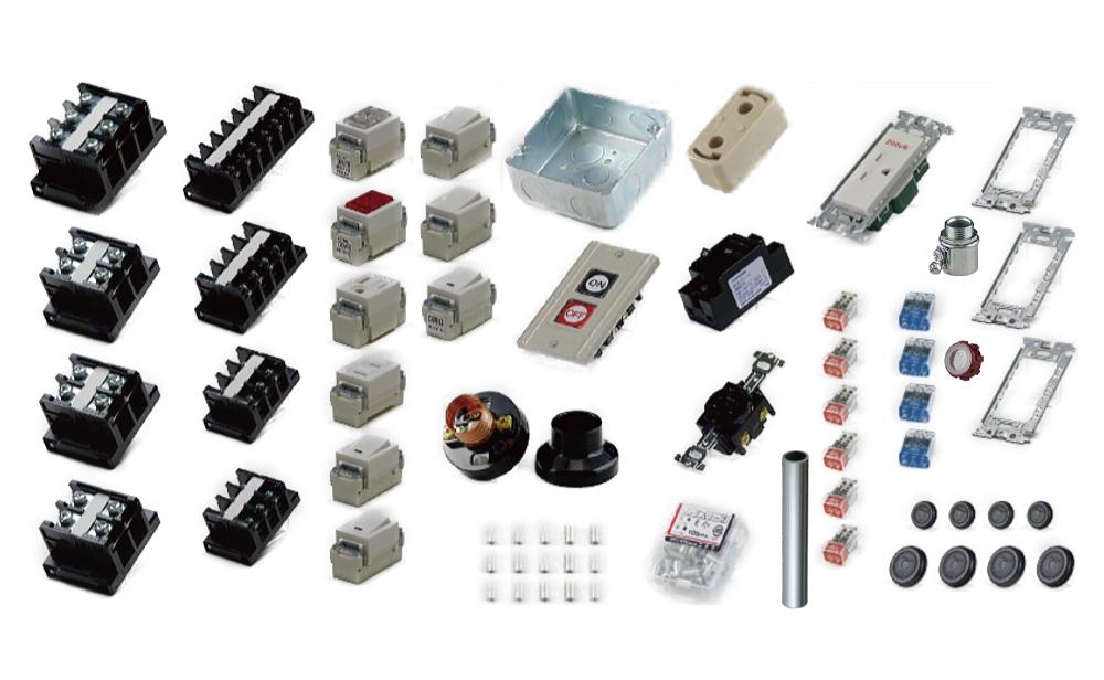 準備万端シリーズ 2020年度 第一種電気工事士 技能試験練習用材料 全10問分の器具セット