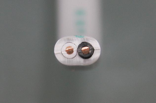 絶縁耐燃性ポリエチレンシースケーブル平形 1.6mm 2心 (EM-EEF)