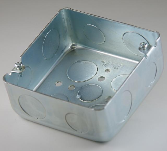 アウトレットボックス 型番DS3744 パナソニック  第一種電気工事士技能試験練習用材料
