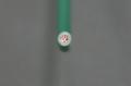 ビニル絶縁電線 2.0mm2    緑 (IV)