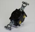 埋込コンセント 3P接地極付15A250V   明工社 型番MU2818  第一種電気工事士技能試験練習用材料