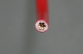 ビニル絶縁電線 5.5mm2    赤 (IV)