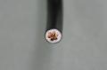 ビニル絶縁電線 5.5mm2    黒 (IV)