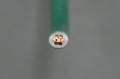 ビニル絶縁電線 5.5mm2    緑 (IV)