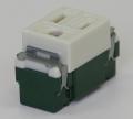 埋込形コンセント (接地極付)   型番WN1101  パナソニック 第一種電気工事士技能試験練習用材料