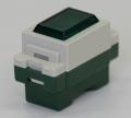 埋込形パイロットランプ 緑色   型番WN3031GK パナソニック 第一種電気工事士技能試験練習用材料